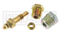 Click for a larger picture of Stewart-Warner Electric Water Temperature Sender Kit, NPT