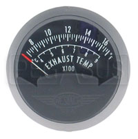 Click for a larger picture of Single EGT Gauge, 2 1/16in, 700 - 1700F