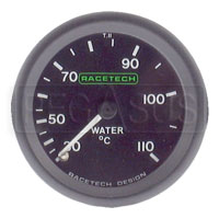 Click for a larger picture of Racetech 110 C Water Temperature Gauge