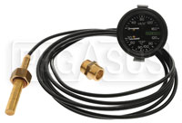 Click for a larger picture of Racetech Dual 160 psi Oil Pressure / 120 C Water Temperature