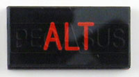 Click for a larger picture of Dash Badge Identification Plate (Alt)