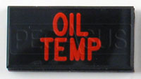 Click for a larger picture of Dash Badge Identification Plate (Oil Temp)