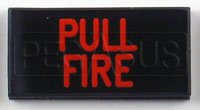 Click for a larger picture of Dash Badge Identification Plate (Pull Fire)