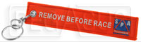 Click for a larger picture of Remove Before Race Streamer