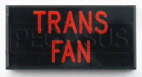 Click for a larger picture of Dash Badge Identification Plate (Trans Fan)