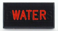 Click for a larger picture of Dash Badge Identification Plate (Water)