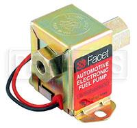 Click for a larger picture of Facet Fuel Pump, 15 Gallon/Hr @ 1psi,  1/8 NPT