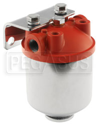 Click for a larger picture of High Performance Fuel Filter with Fram HPGC-1 Element
