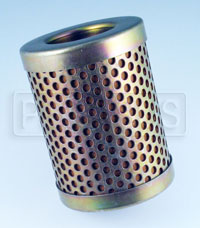 "Click for a larger picture of Canton 1 Micron Fuel Filter Element, Short (2 5/8"")"