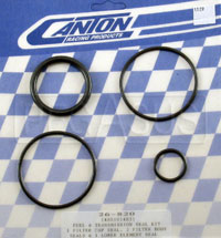 Click for a larger picture of Viton Seal Kit for Canton Remote Mount Fuel Filter