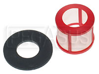 Click for a larger picture of 400 Micron Filter w/Gasket for Facet Cylindrical Pump