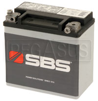 Click for a larger picture of (B) 12 AH Sealed Racing Battery