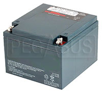 Click for a larger picture of (B) 26AH Sealed Racing Battery