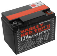 Click for a larger picture of (B) Varley Red Top 8 Battery, 7.3AH