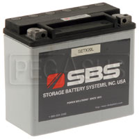 Click for a larger picture of (B) 17.5 AH Sealed Racing Battery (RT25)