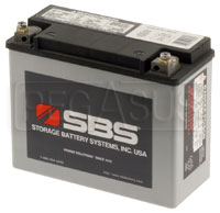 Click for a larger picture of (B) 26 AH Sealed Racing Battery (RT30)