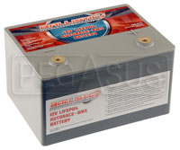 Click for a larger picture of (LI) Ballistic 12v LiFePO4 AutoRace Battery w/ Internal BMS