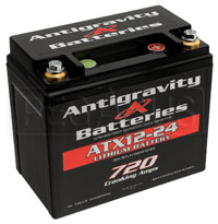 Click for a larger picture of (LI) Antigravity 12v Lithium YTX12 OEM Case Battery, 24 Cell