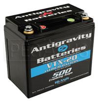 Click for a larger picture of (LI) Antigravity 16v Lithium VTX-20 Left Side Positive