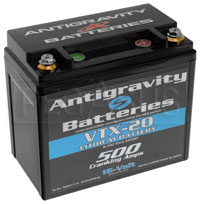 Click for a larger picture of (LI) Antigravity 16v Lithium VTX-20 Left Side Positive