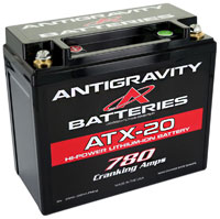 Click for a larger picture of (LI) Antigravity 12v Lithium YTX20 OEM Case Battery, 20 Cell