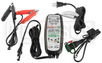 Click for a larger picture of Optimate LiFePO4 Lithium 12 Volt 0.8 Amp Battery Charger