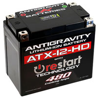 Click for a larger picture of (LI) Antigravity ATX-12 HD RS 12v Lithium Battery, 480 CA