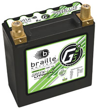 Click for a larger picture of (LI) Braille 12v Lithium Battery, 697 CA, 12Ah, G-20L