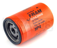 Click for a larger picture of Fram HP-4 High-Performance Oil Filter, 13/16-16, Large OD