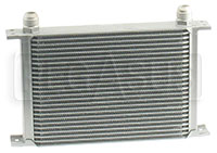 Click for a larger picture of Clearance Full Width Aluminum Oil Cooler, 5/8 BSP