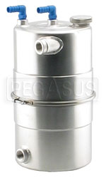 "Click for a larger picture of EasyClean Oil Tank 9.5"" dia x 16"" high, 16AN"