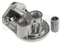 Click for a larger picture of Remote Filter Head, Top Ports, 1/2 NPT