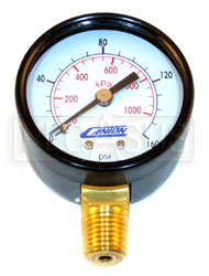 Click for a larger picture of Replacement Standard Pressure Gauge for Canton Accusump