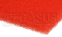Click for a larger picture of Air Filter Foam Sheet, Red (40 PPI Medium), 12 x 16 x 3/8