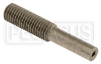 "Click for a larger picture of 1/4-28 Shortened Cable Stud End, 1.35"" Length"