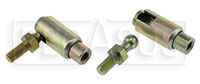 Click for a larger picture of Quick Release Stud Type Ball Joint with 10-32 Threads