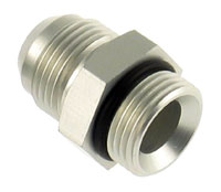 Click for a larger picture of Single O-Ring Boss Adapter - 1 1/16 x 12 to 6AN Male