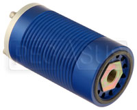 "Click for a larger picture of Canton 6.25"" Machined Aluminum Spin-On Oil Filter"