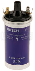 Click for a larger picture of Bosch Blue Ignition Coil, 12 volt