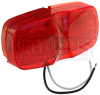 Click for a larger picture of Oblong LED Rain Light