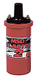 Click for a larger picture of MSD Blaster II Ignition Coil