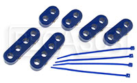 Click for a larger picture of Clamp-Style Spark Plug Wire Separators, Blue