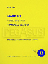 Click for a larger picture of Hewland Gearbox Manual for MK8 and MK9 4- & 5-Speed