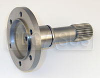 Click for a larger picture of Webster CV Stub Axle, 25 Spline, Left, Webster Diff Only