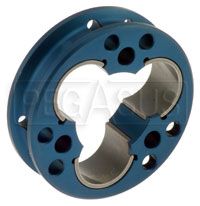 Click for a larger picture of Tripod Joint Housing - Aluminum, 94mm Dia, 26mm Thick