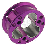 Click for a larger picture of Tripod Joint Housing - Aluminum, 94mm Dia, 40mm Thick