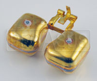 Click for a larger picture of Brass Float, Weber 32/36 DGV Carburetor