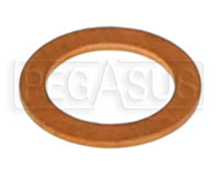 Click for a larger picture of Pump Jet Gasket, Weber 32/36 DGV, IDF Carburetors