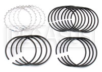 "Click for a larger picture of 1.6L Ring Set, for .005"" Oversize Pistons (4 Pistons)"