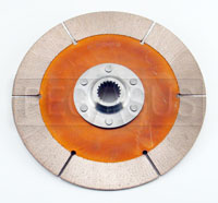 "Click for a larger picture of F3/OT-2 Clutch Disc, 7.25"", 7/8x20 Spline, FF/SV"